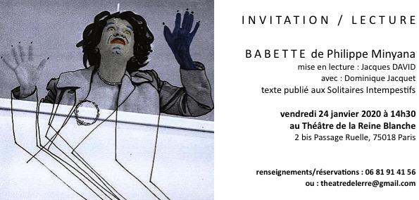 invitation reine blanche