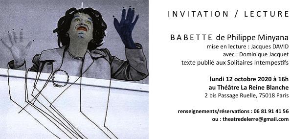 carton invitation 12 octobre
